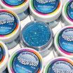 Purpurina fina Decorative Sparkles Holograma Azul