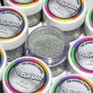 Purpurina fina Decorative Sparkles Holograma Plata
