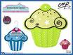Salvamantel forma cupcake