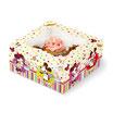 Caja 4 cupcakes Mickey y Minnie