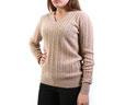 Пуловер из верблюжьей шерсти арт.192-23
