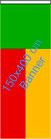 Benin / Bannerfahne