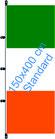Irland / Hißfahne im Hochformat