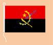 Angola / Hißfahne im Querformat