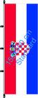 Kroatien / Hißfahne im Hochformat