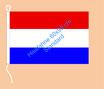 Niederlande / Hißfahne im Querformat