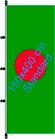 Bangla Desh / Hißfahne im Hochformat