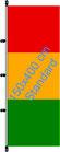 Guinea / Hißfahne im Hochformat