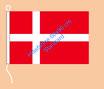 Dänemark / Hißfahne im Querformat