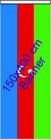 Aserbeidschan / Bannerfahne