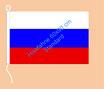 Russland / Hißfahne im Querformat