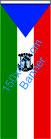 Äquatorial Guinea / Bannerfahne
