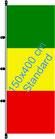 Mali / Hißfahne im Hochformat
