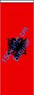 Albanien / Bannerfahne