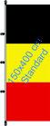 Belgien / Hißfahne im Hochformat