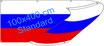 Russland / Spannband (Transparent)