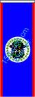 Belize / Bannerfahne