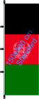 Afghanistan / Hißfahne im Hochformat