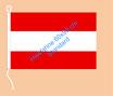 Österreich / Hißfahne im Querformat