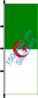 Algerien / Hißfahne im Hochformat