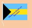 Bahamas / Hißfahne im Querformat