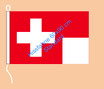 Schweiz / Hißfahne im Querformat