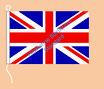 Großbritannien / Hißfahne im Querformat