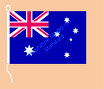 Australien / Hißfahne im Querformat