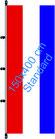 Niederlande / Hißfahne im Hochformat