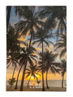 Palmen im Sonnenuntergang Kenia`s