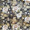 Coupon de tissu 50cm x 55cm : Les fleurs de Dahlia et Pivoine  F30