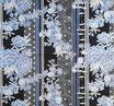 Coupon de 50cm x 55cm  : Mélange de fleurs sur TATEJIMA F29