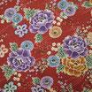 Coupon de 50cm x 55cm : Fleurs de pivoine GAU2