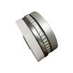 Bracelet manchette en cuir JOA by RISTMIK blanc et argent- ref202069