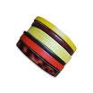 Bracelet manchette en cuir JOA by RISTMIK multicolore- ref202060