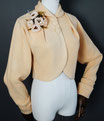 """Cardigan Jacket """"1953"""" in Butter Yellow"""