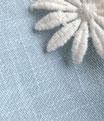 """Dress """"Daisy Bouquet 1952"""" in Light Blue"""