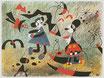 """Postkarte """"Miró"""""""