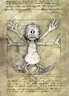"Postkarte ""Anas Mensura Mundi"""