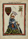 "Postkarte ""Vogelweide"""