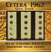 Strat 1962 gold Stack Pickup- Set/ Matched