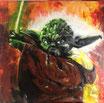 Peinture de Yoda