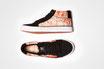 DECKFARBEN: Veganer Mid-Cut Sneaker /// Print #2