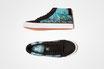 DECKFARBEN: Veganer Mid-Cut Sneaker /// Print #1