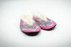 Glarner Finken Grösse 21 -23 rosa mit rutschfester Noppensohle