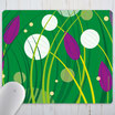 – Mousepad in XL – spring meadow