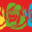 – Geschenkpapier – musée de la rose I