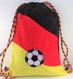 FAN Turnbeutel mit Fußball-Stickerei