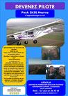 PACK 2 h 30 min d'apprentissage au vol