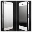 iPhone 5 Titanium / Weiss Carbon
